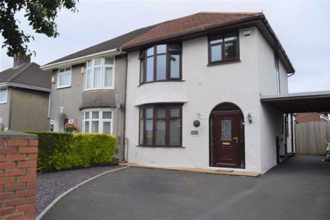 3 bedroom semi-detached house for sale - Ravenhill Road, Ravenhill, Swansea