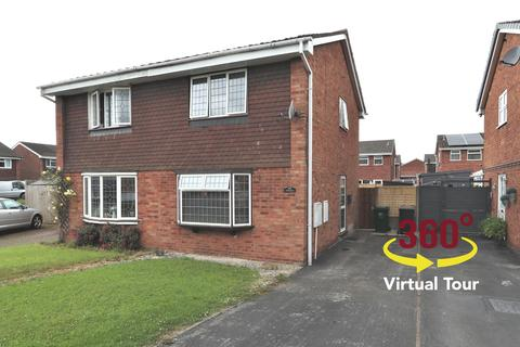 2 bedroom semi-detached house for sale - The Paddocks, Newhall, Swadlincote