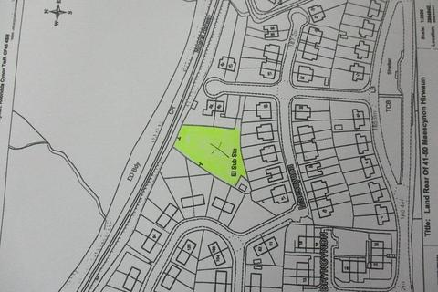 Land for sale - Maescynon, Hirwaun, Aberdare
