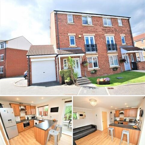 4 bedroom townhouse for sale - Mackley Close, South Shields