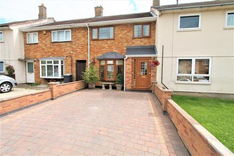 3 bedroom townhouse for sale - Milnroy Road, Thurnby Lodge, Leicester LE5 2LU