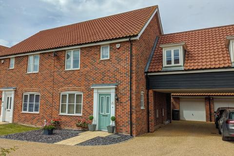 3 bedroom semi-detached house for sale - Foxglove End, Leiston