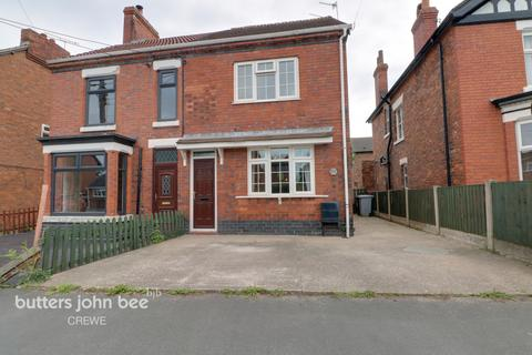 3 bedroom semi-detached house for sale - Crewe Road, Shavington, Crewe