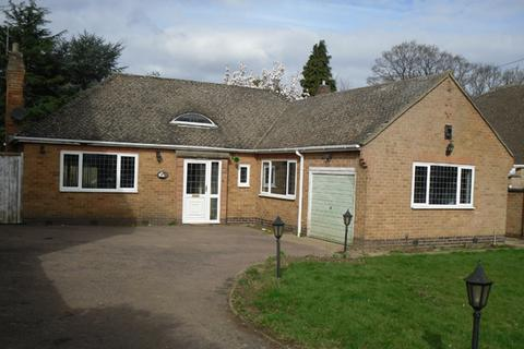 2 bedroom detached bungalow to rent - The Broadway , Oadby , Leicester  LE2