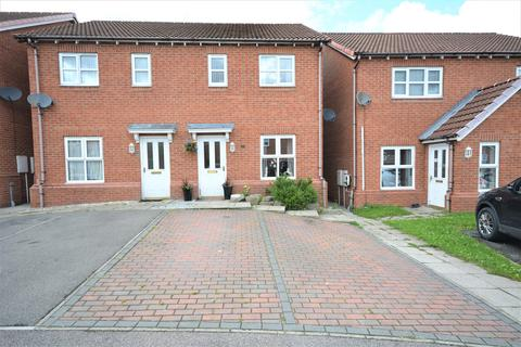 3 bedroom semi-detached house for sale - Meadow Court, Tow Law, Bishop Auckland, DL13 4BF