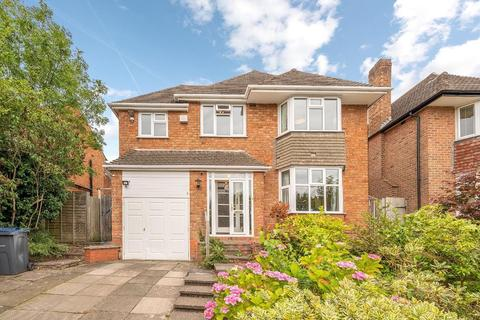 4 bedroom detached house for sale - Dorchester Drive, Harborne, Birmingham, West Midlands, B17 0SW