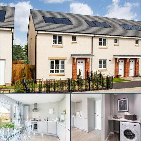 3 bedroom semi-detached house for sale - Plot 17, Coull at Harwood Park, Limefields, Livingston, WEST CALDER EH55