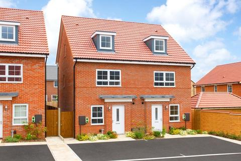 4 bedroom semi-detached house for sale - Plot 242, KINGSVILLE at Berry Hill, Lindhurst Way West, Mansfield, MANSFIELD NG18