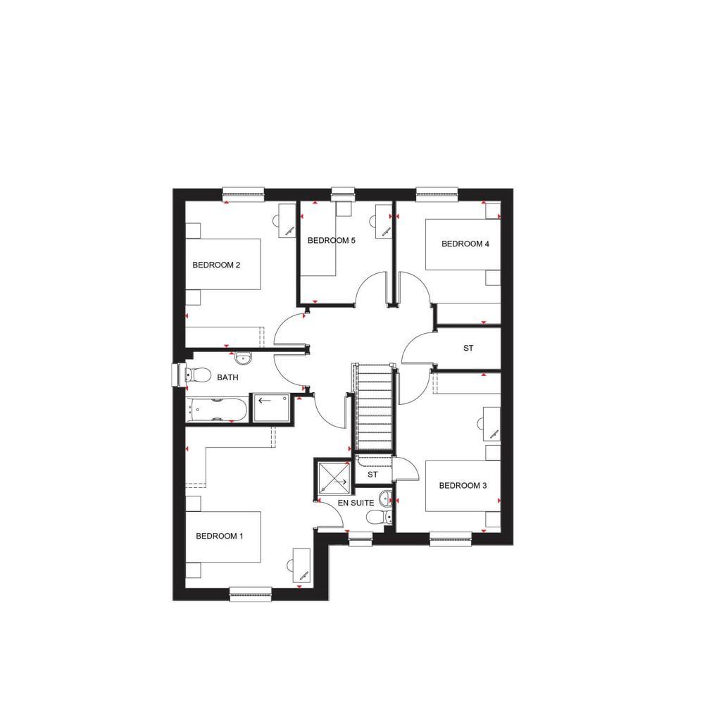 Floorplan 2 of 2: H4738 H7147 Ballathie 422603