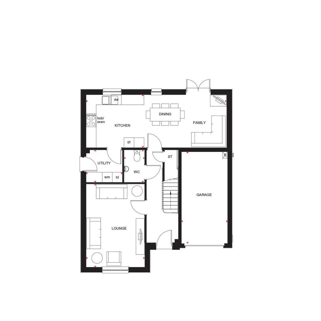 Floorplan 1 of 2: H4738 H7147 Ballathie 422603