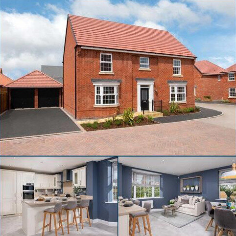 5 bedroom detached house for sale - Plot 378, Henley at Wigston Meadows, Newton Lane, Wigston, WIGSTON LE18