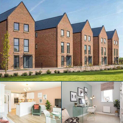 4 bedroom end of terrace house for sale - Plot 140, Thorney at Darwin Green, Huntingdon Road, Cambridge, CAMBRIDGE CB3