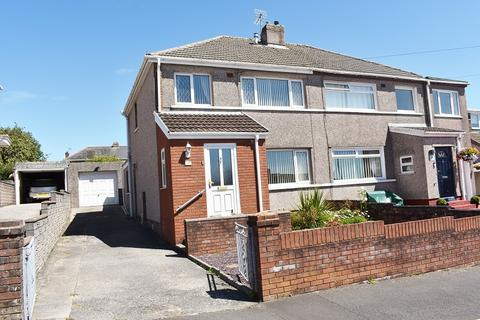 3 bedroom semi-detached house for sale - Highfield Avenue, Litchard, Bridgend . CF31 1QR
