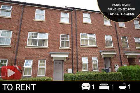 1 bedroom house share to rent - Greenlawn Walk, Leicester, LE4
