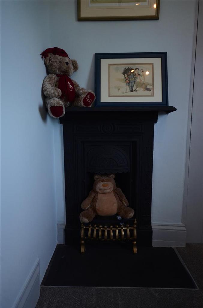 Fireplace Teddy