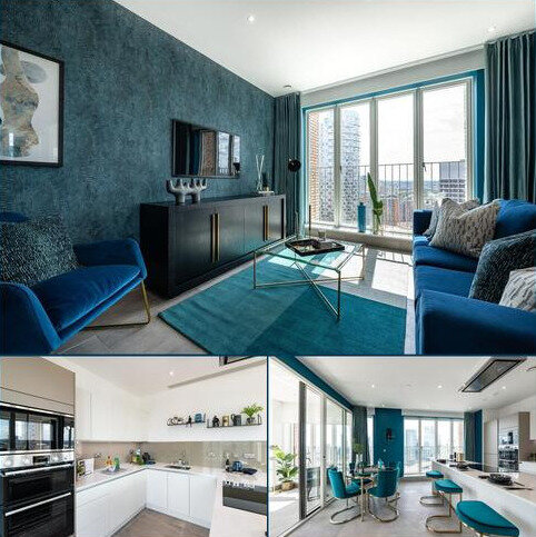 2 bedroom penthouse for sale - Plot 131, The Masthead at Blackwall Reach, Royal Captain Court, 26 Arniston Way, Poplar, London E14