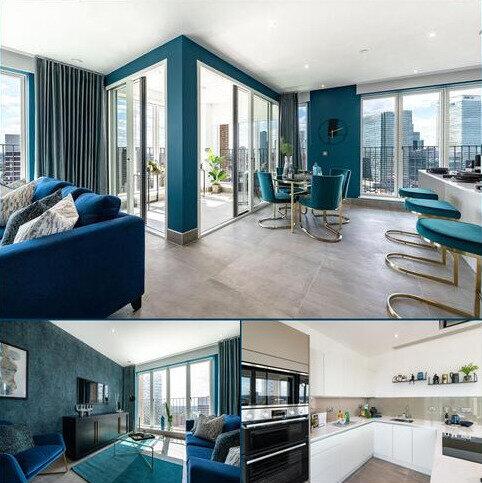2 bedroom penthouse for sale - Plot 131, The Masthead at Blackwall Reach, Royal Captain Court, 26 Arniston Way, Poplar, London E14