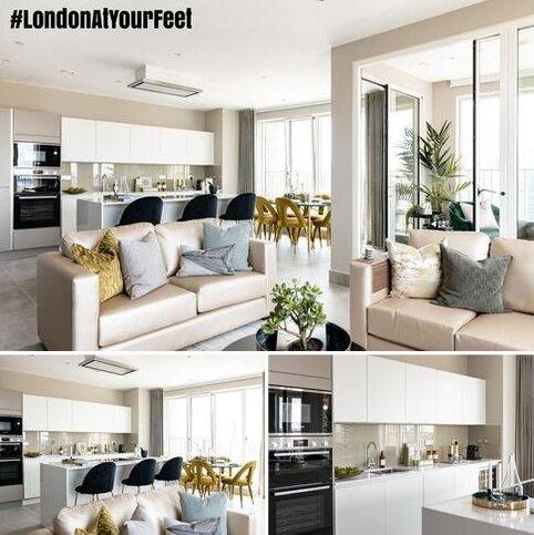 3 bedroom penthouse for sale - Plot 129, The Liberty at Blackwall Reach, Royal Captain Court, 26 Arniston Way, Poplar, London E14