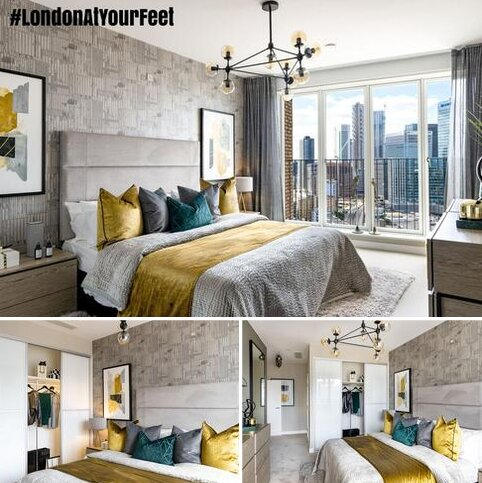 3 bedroom penthouse for sale - Plot 133, The Liberty at Blackwall Reach, Royal Captain Court, 26 Arniston Way, Poplar, London E14