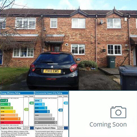 2 bedroom townhouse to rent - 33 Coppice Gate