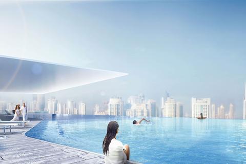 5 bedroom duplex - The Residences - Dorchester Collection, Burj Khalifa District, Dubai, UAE