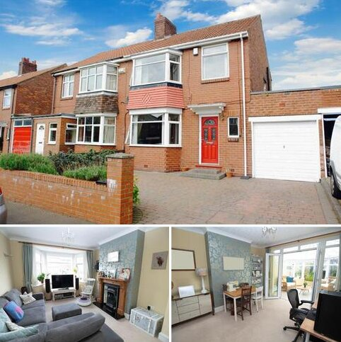 3 bedroom semi-detached house for sale - Swaledale Gardens, High Heaton, Newcastle upon Tyne