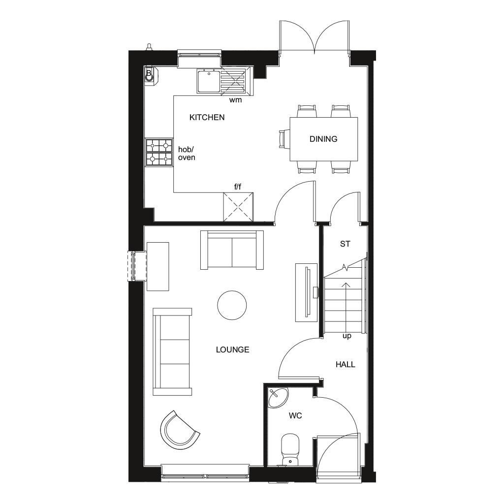 Floorplan 1 of 2: NEW Maidstone GF