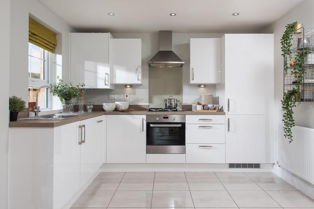 Internal view of kitchen of Maidstone housetype