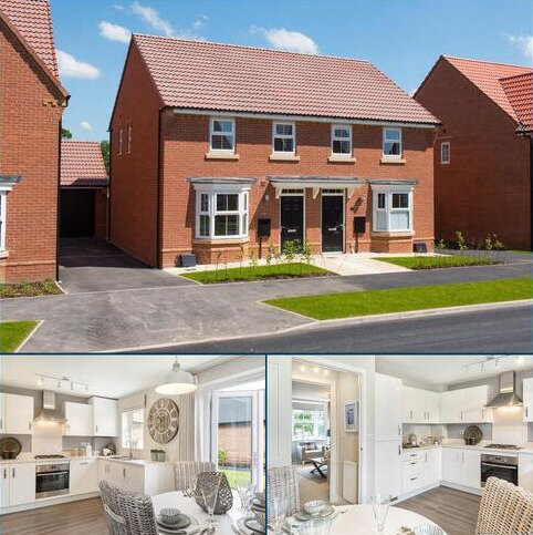 3 bedroom semi-detached house for sale - Plot 121, Archford at Dida Gardens, Off the A4130, Didcot, DIDCOT OX11
