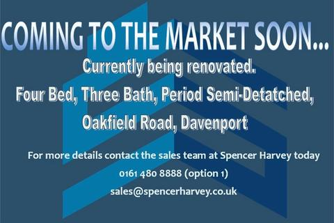 4 bedroom semi-detached house for sale - Oakfield Road, STOCKPORT, Cheshire