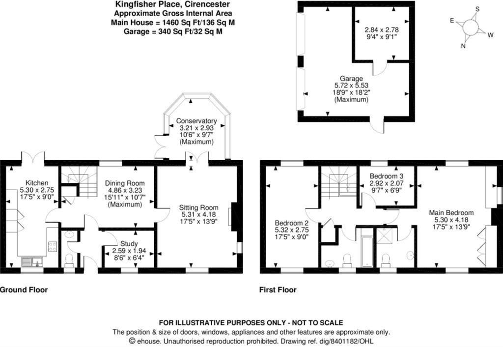 Floorplan: 2 kingfisher place