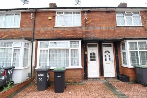 2 bedroom terraced house for sale - IDEAL FIRST TIME PURCHASE on Connaught Road, Luton
