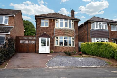 3 bedroom detached house for sale - Curzon Close, Allestree, Derby