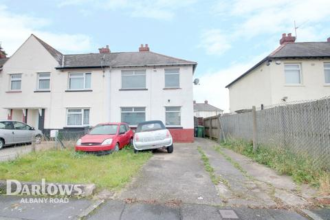 3 bedroom end of terrace house for sale - Cairnmuir Road, Cardiff