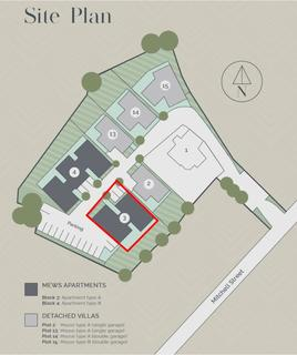 2 bedroom apartment for sale - Apartment Block 3, The Old Bowling Green, Mitchell Street, Crieff PH7 3FF