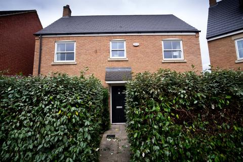 4 bedroom detached house for sale - Reg Partridge Close, Duston, Northampton, Northamptonshire