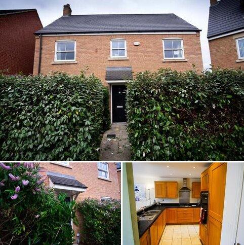 4 bedroom detached house for sale - Reg Partridge Close, Duston, Northampton, Northamptonshire