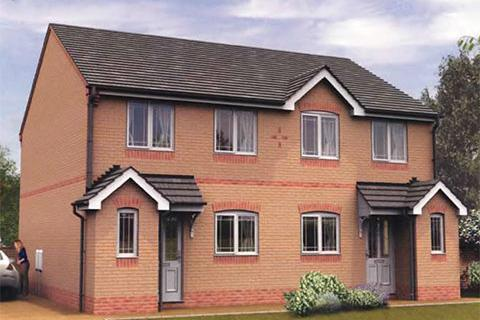 3 bedroom semi-detached house for sale - Plot 23, The Shirland at Konnect, Thornhill Drive, South Normanton, Derbyshire DE55