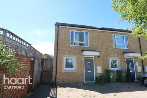 2 bedroom end of terrace house to rent - Dartford