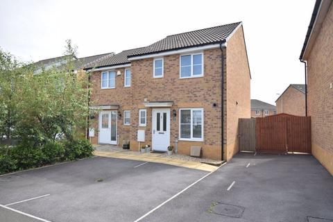 3 bedroom semi-detached house for sale - 19 Heol Tredwr, Waterton, Bridgend, CF31 3AJ