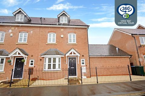 4 bedroom end of terrace house for sale - Jefferson Way, Bannerbrook Park, Coventry