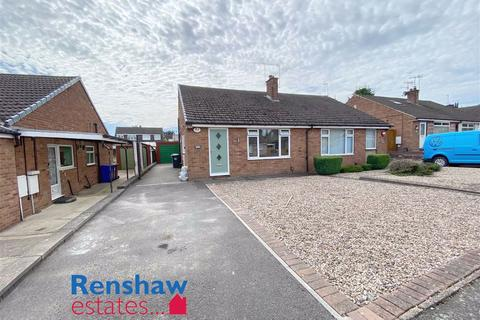 2 bedroom semi-detached bungalow for sale - Dumbles Close, Kirk Hallam, Derbyshire