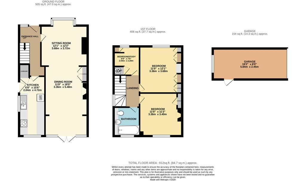 Floorplan: 10 Cheltenham Road High