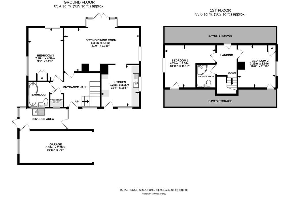 Floorplan: 3 Orchard Drive Bishops Hull TA15 ES High.jpg