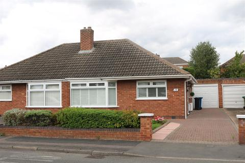 2 bedroom semi-detached bungalow for sale - St. Georges Way, Glascote, Tamworth