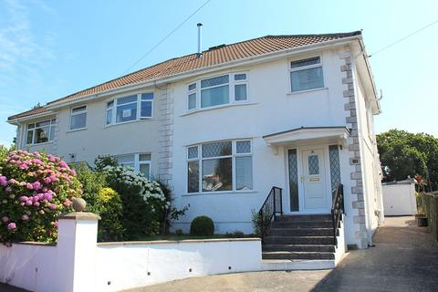 3 bedroom semi-detached house for sale - Druslyn Road, West Cross, Swansea, City & County Of Swansea. SA3 5QE