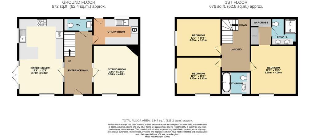 Floorplan: 1a Churn Street GL71 LE High