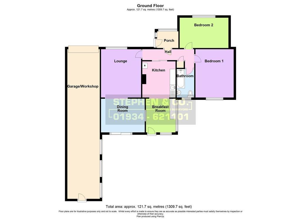 Floorplan: The Bungalow, Station Road, Brent Knoll.jpg