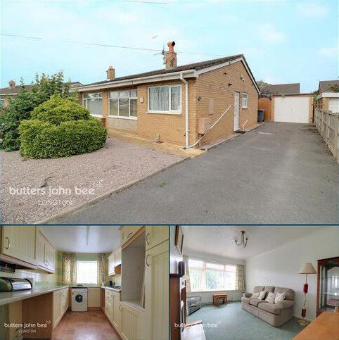 2 bedroom semi-detached bungalow for sale - Tunnicliffe Close, Weston Coyney, ST3 5LE