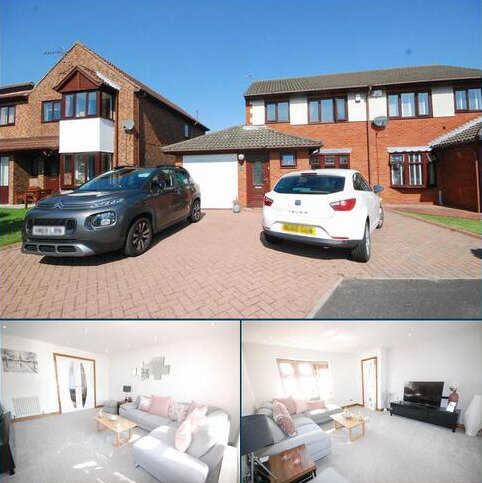 3 bedroom semi-detached house for sale - Leander Drive, Boldon Colliery